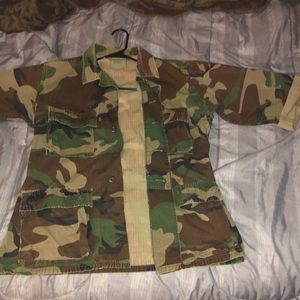 S/M ARMY JACKET forever 21